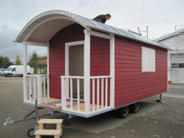 Aktuell zirkuswagen sch ferwagen als wohnwagen - Bauwagen selber bauen ...